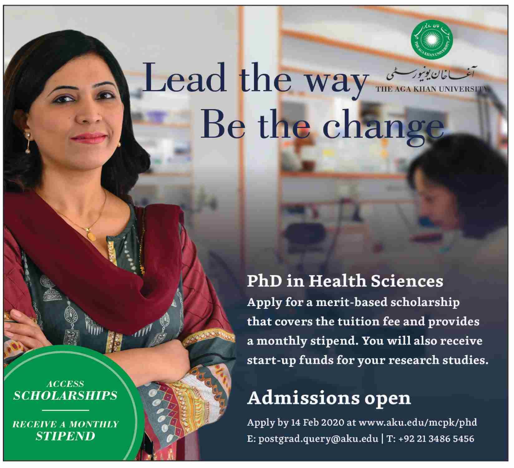 The Aga Khan University Karachi Admissions
