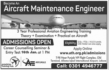 Ath Lahore Admissions