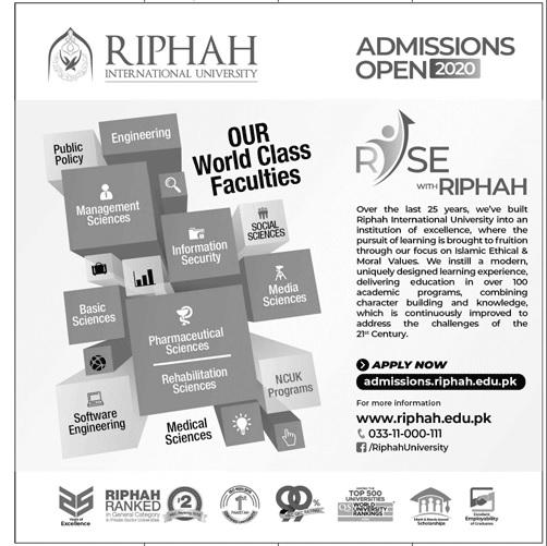 Riphah International University (Riphah)