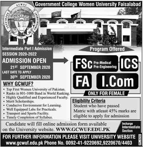Government College Women University,Faisalabad