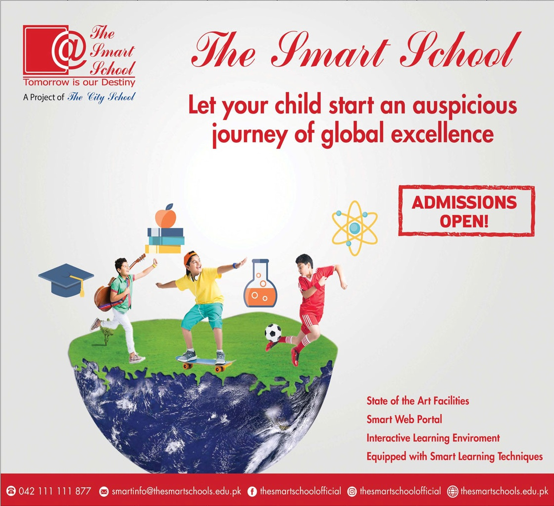 The Smart School Lahore Admissions