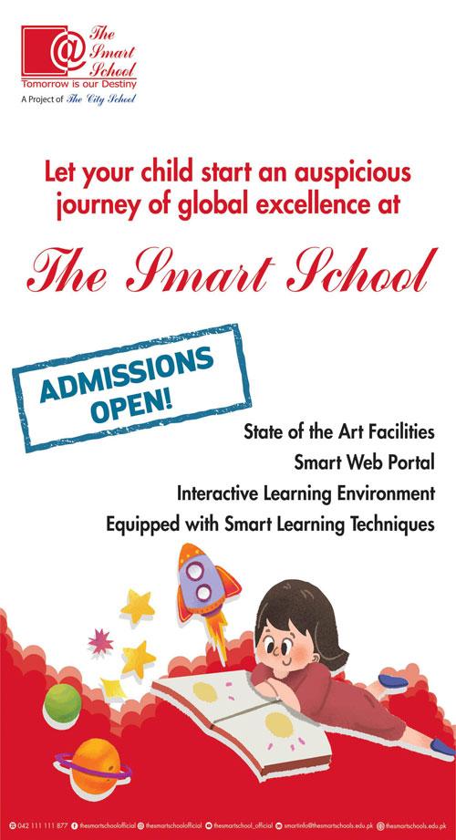 The Smart School Karachi Admissions