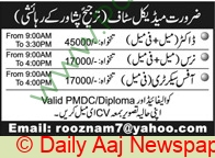 Peshawar Based Company jobs newspaper ad for Doctor in Peshawar