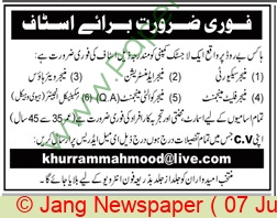 Logistic Company jobs newspaper ad for Manager Security in Multiple Cities